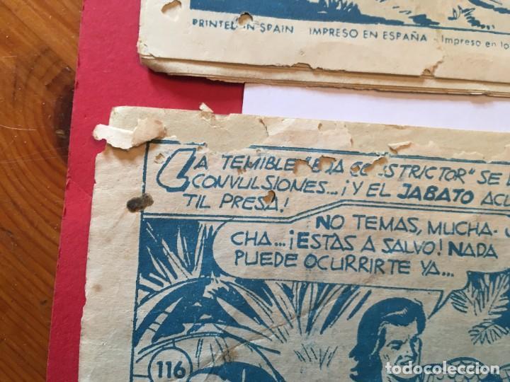 Tebeos: comic el jabato super aventuras nº 103 - 114 - 116 -122 - - Foto 3 - 262606595
