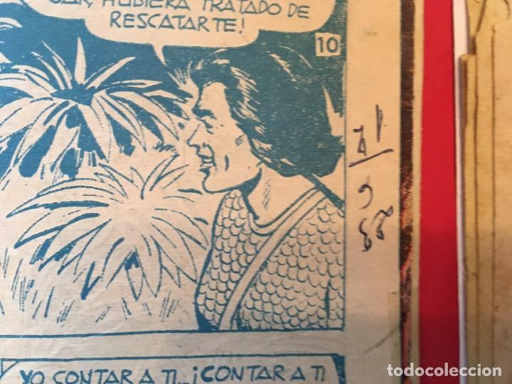 Tebeos: comic el jabato super aventuras nº 103 - 114 - 116 -122 - - Foto 4 - 262606595
