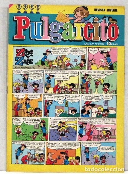 PULGARCITO - Nº 2258 - ZIPI Y ZAPE - AÑO LIV - COMIC (Tebeos y Comics - Bruguera - Pulgarcito)