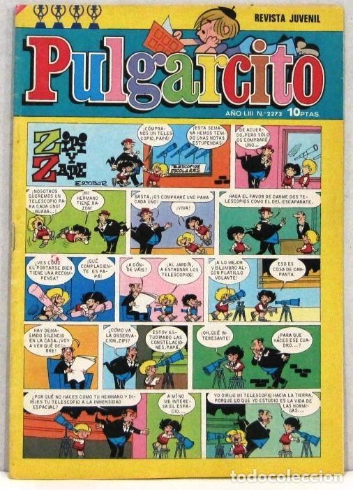 PULGARCITO - Nº 2273 - ZIPI Y ZAPE - AÑO LIV - COMIC (Tebeos y Comics - Bruguera - Pulgarcito)