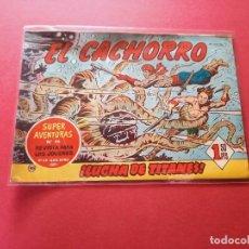Tebeos: EL CACHORRO Nº 185 -ORIGINAL. Lote 262878705