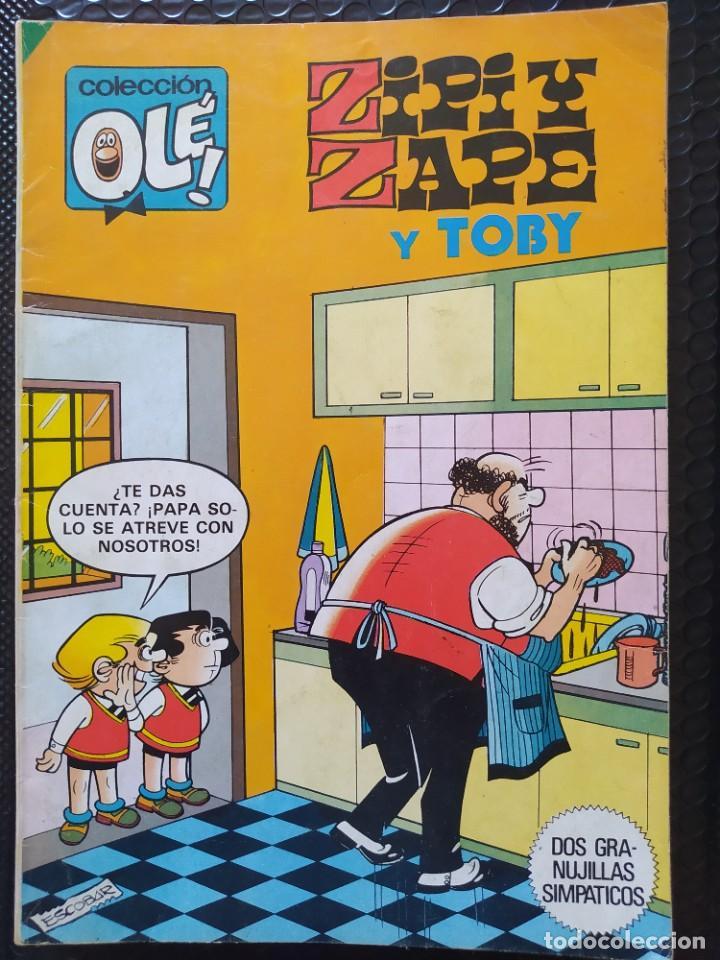 OLÉ ZIPI Y ZAPE Y TOBY #283 -BRUGUERA-1983-PRIMERA EDICIÓN-FN (Tebeos y Comics - Bruguera - Otros)