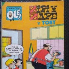 Tebeos: OLÉ ZIPI Y ZAPE Y TOBY #283 -BRUGUERA-1983-PRIMERA EDICIÓN-FN. Lote 262887130