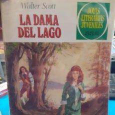 Tebeos: LA DAMA DEL LAGO. WALTER SOTT. JOYAS LITERARIAS JUVENILES N°234.. Lote 262902690