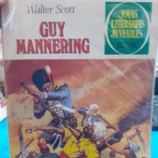 Tebeos: GUY MANNERING. WALTER SCOTT. JOYAS LITERARIAS JUVENILES N°229.. Lote 262902875