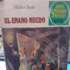 Tebeos: EL ENANO NEGRO. WALTER SCOTT. JOYAS LITERARIAS JUVENILES N°228.. Lote 262904525