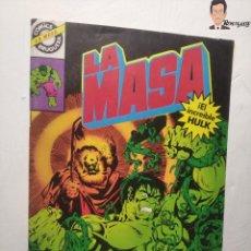 Tebeos: COMIC LA MASA Nº 17 - EL JARDINERO (EDITORIAL BRUGUERA) EL INCREIBLE HULK. Lote 262950725