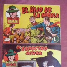 Tebeos: INSPECTOR DAN. BRUGUERA,NUMEROS 13-29.1952.. Lote 262953860