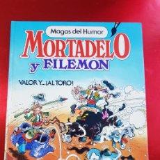 Tebeos: COMIC-MORTADELO Y FILEMÓN-MAGOS DEL HUMOR-VALOR Y ...¡AL TORO-FºIBAÑEZ-1ªEDICIÓN-1984-EDIT.BRUGUERA. Lote 262968060
