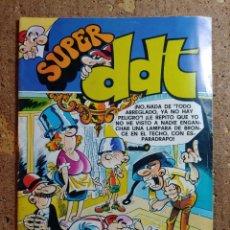 Tebeos: COMIC DE SUPER DDT DEL AÑO 1978 Nº 63. Lote 262985180