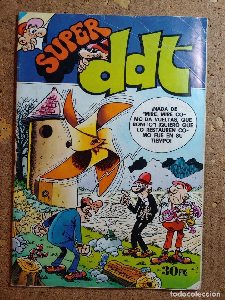 COMIC DE SUPER DDT DEL AÑO 1978 Nº 55 (Tebeos y Comics - Bruguera - DDT)