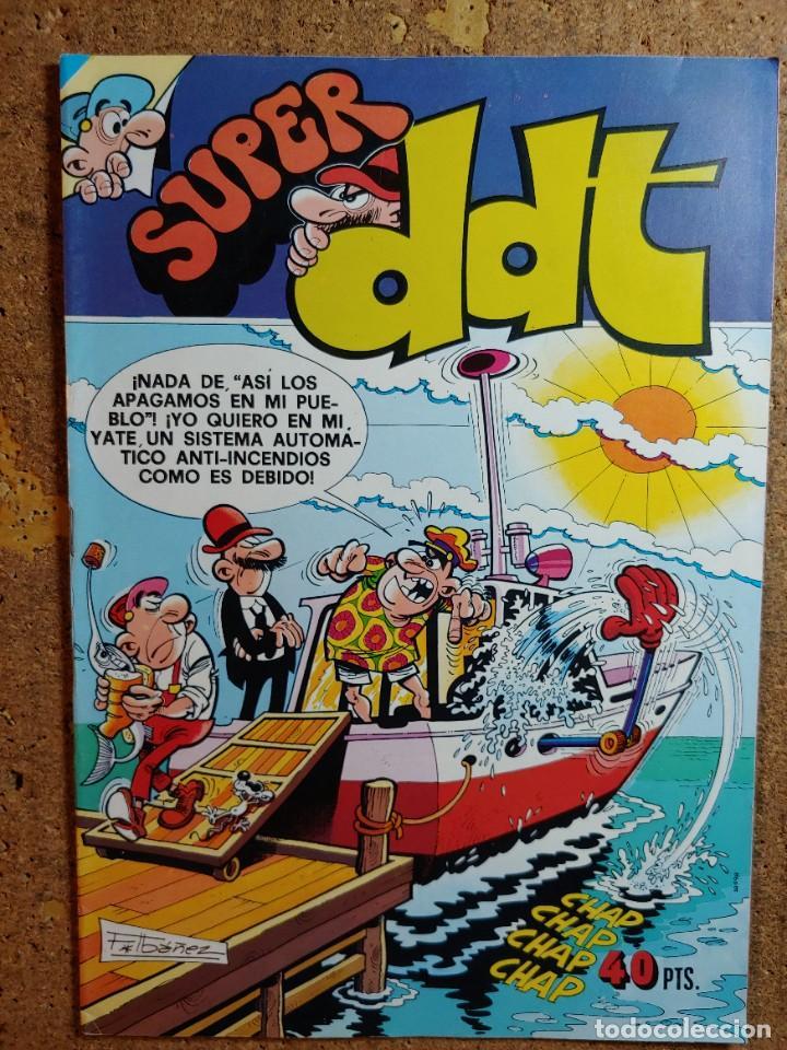 COMIC DE SUPER DDT DEL AÑO 1979 Nº 74 (Tebeos y Comics - Bruguera - DDT)