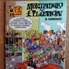 Livros de Banda Desenhada: COMIC DE OLE MORTADELO Y FILEMÓN EN EL CANDIDATO DEL AÑO 2000 Nº 9. Lote 262991530