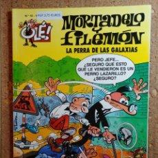 Livros de Banda Desenhada: COMIC DE OLE MORTADELO Y FILEMÓN EN LA PERRA DE LAS GALAXIAS DEL AÑO 1999 Nº 18. Lote 262992555