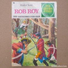 Tebeos: ROB ROY. WALTER SCOTT. JOYAS LITERARIAS JUVENILES NUM 11. CUARTA EDICIÓN. Lote 263007075