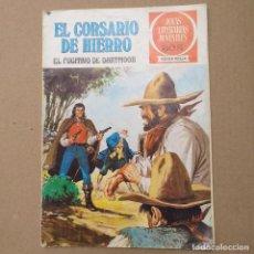 BDs: EL FUGITIVO DE DARTMOOR. EL CORSARIO DE HIERRO. JOYAS LITERARIAS JUVENILES SERIE ROJA NUM 26. Lote 263016345