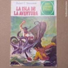 Tebeos: LA ISLA DE LA AVENTURA. ROBERT L. STEVENSON. JOYAS LITERARIAS JUVENILES NUM 39 CUARTA EDICIÓN. Lote 263018125