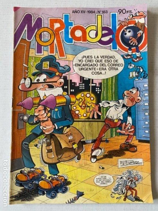 MORTADELO AÑO XV #183 BRUGUERA (Tebeos y Comics - Bruguera - Mortadelo)