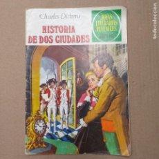 Tebeos: HISTORIA DE DOS CIUDADES. CHARLES DICKENS. JOYAS LITERARIAS JUVENILES NUM 3. Lote 263020785