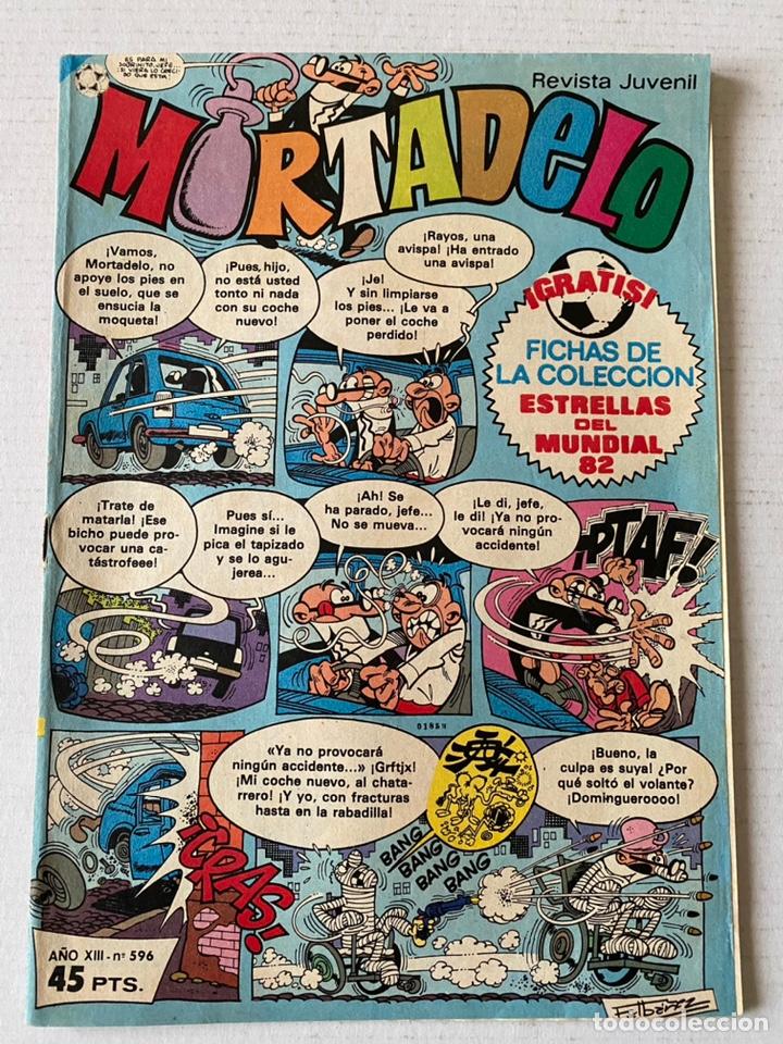 MORTADELO #596 BRUGUERA BUEN ESTADO (Tebeos y Comics - Bruguera - Mortadelo)