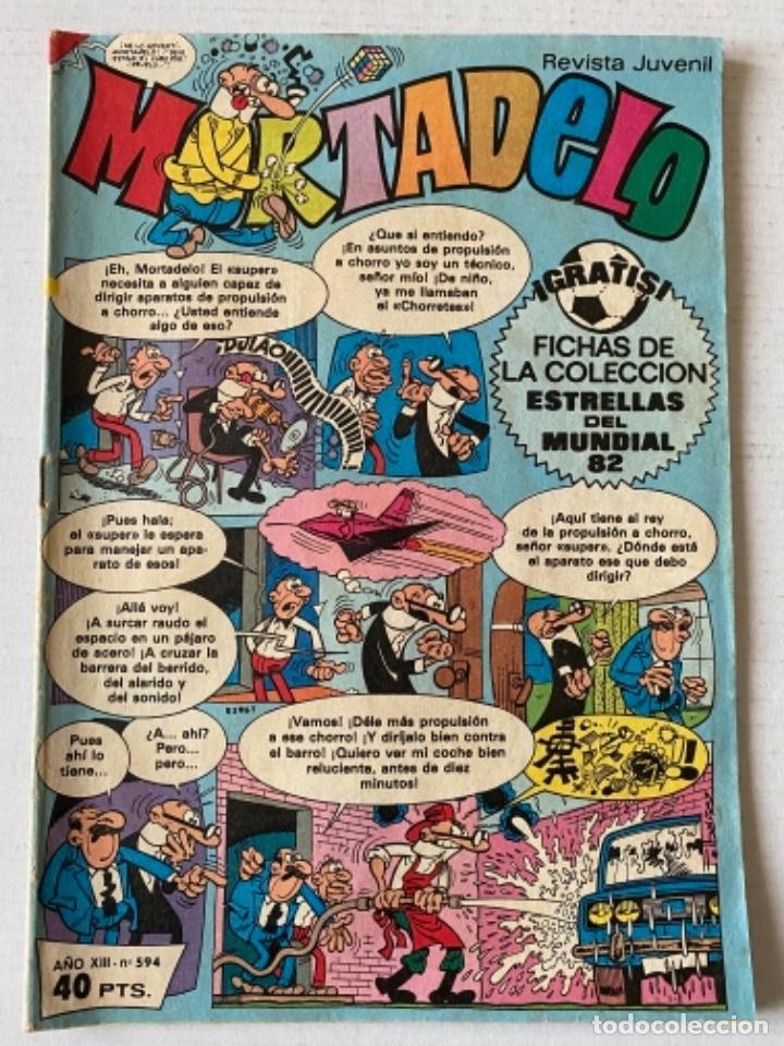 MORTADELO #594 BRUGUERA BUEN ESTADO (Tebeos y Comics - Bruguera - Mortadelo)