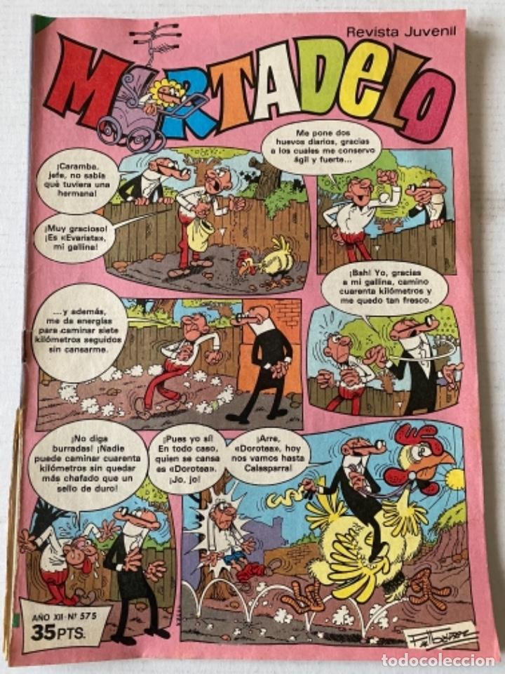 MORTADELO #575 BRUGUERA ALGÚN DEFECTO (Tebeos y Comics - Bruguera - Mortadelo)