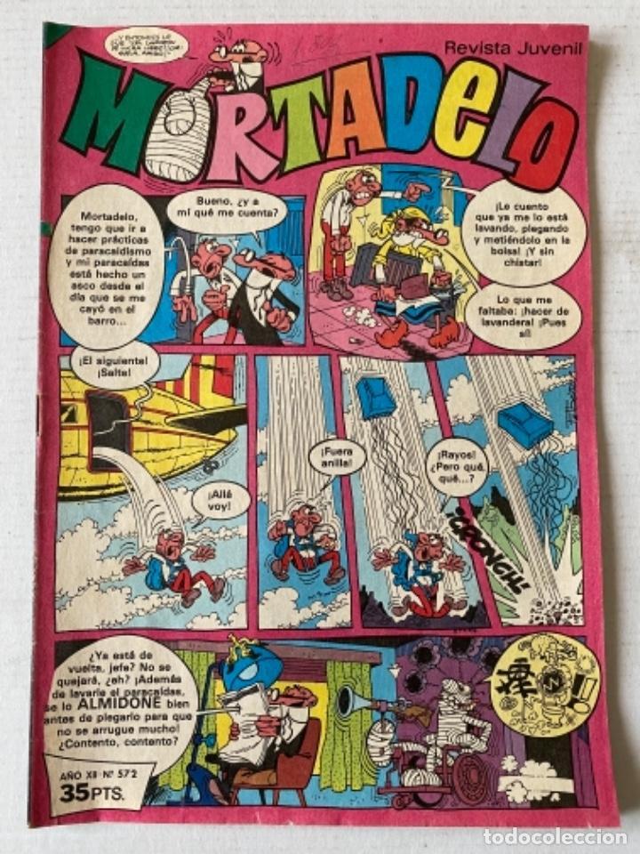 MORTADELO #572 BRUGUERA - MUY RARO (Tebeos y Comics - Bruguera - Mortadelo)