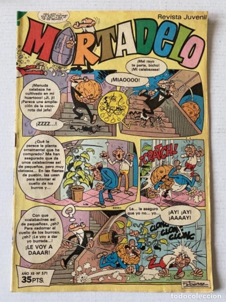 MORTADELO #571 BRUGUERA (Tebeos y Comics - Bruguera - Mortadelo)