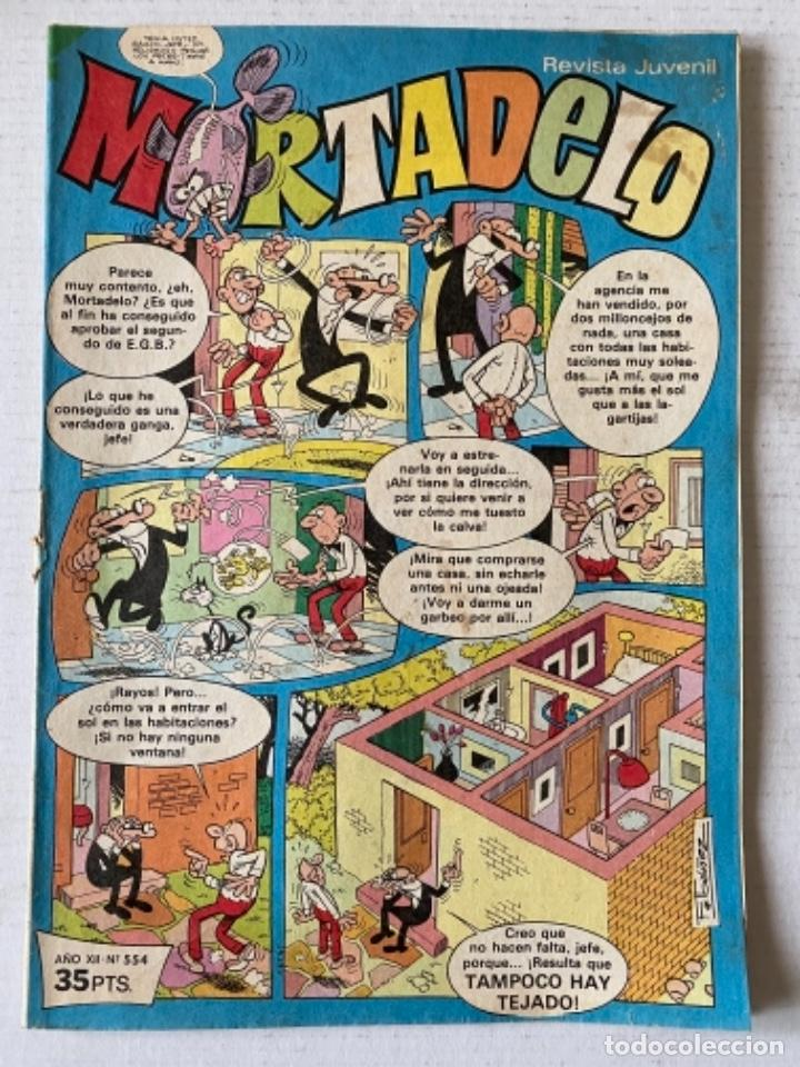 MORTADELO #554 BRUGUERA (Tebeos y Comics - Bruguera - Mortadelo)