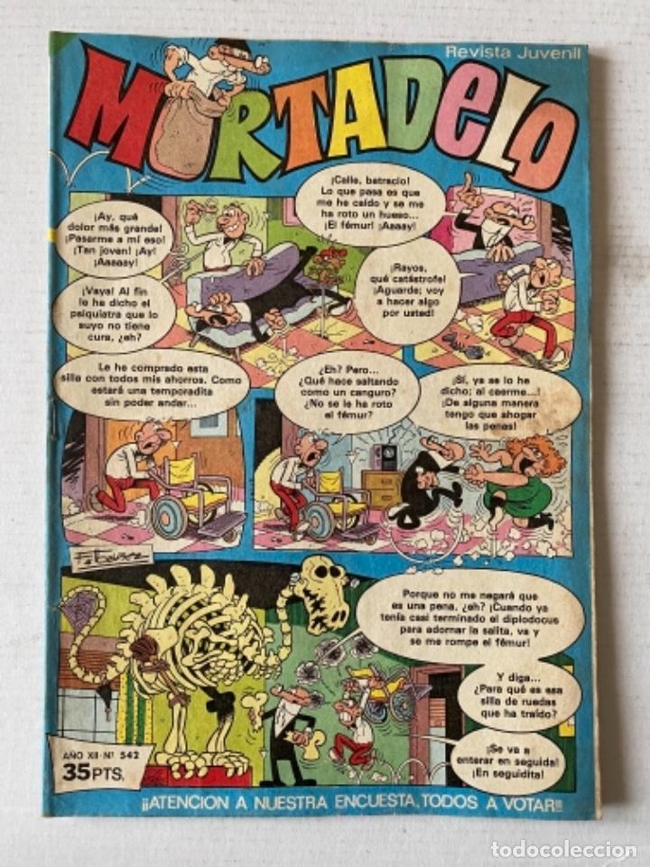 MORTADELO #542 BRUGUERA (Tebeos y Comics - Bruguera - Mortadelo)