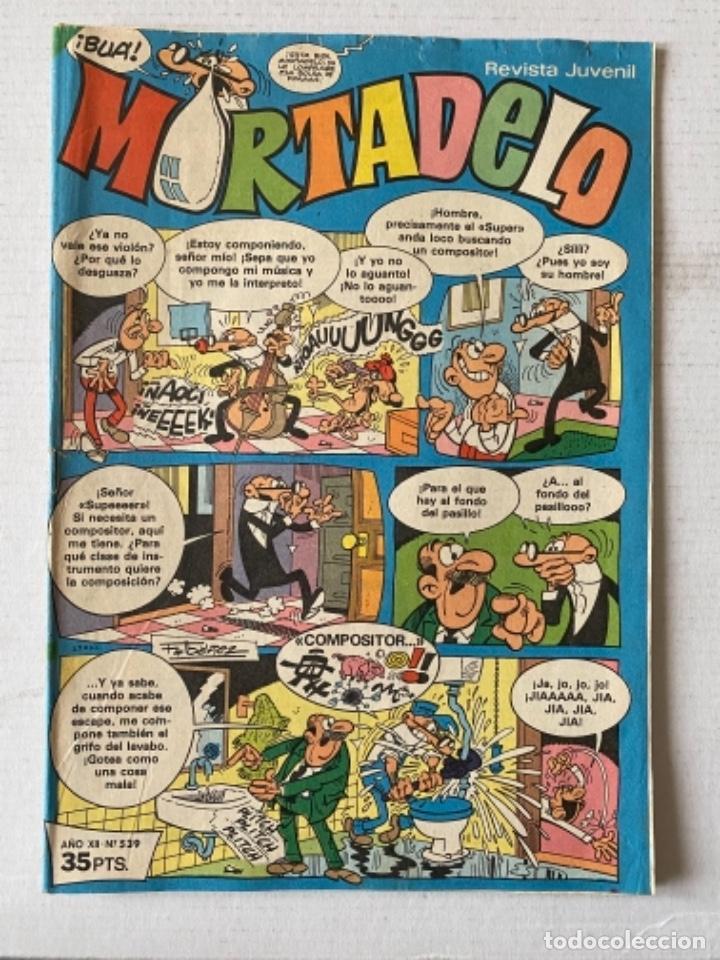 MORTADELO #539 BRUGUERA INFRECUENTE (Tebeos y Comics - Bruguera - Mortadelo)