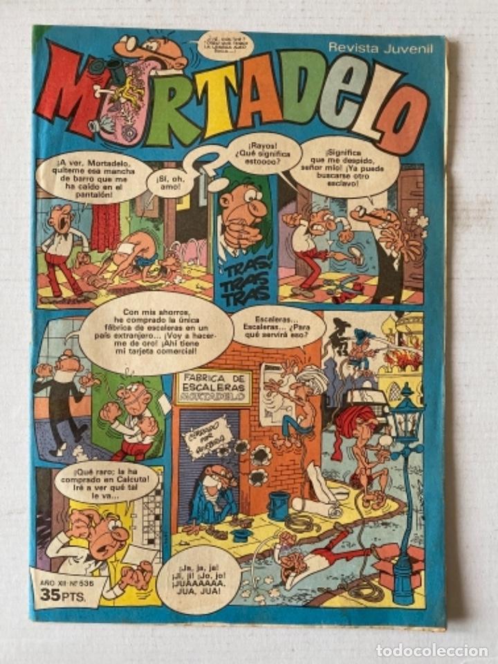 MORTADELO #536 BRUGUERA (Tebeos y Comics - Bruguera - Mortadelo)