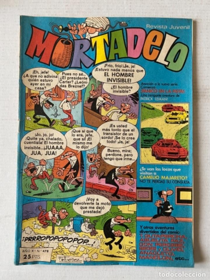 MORTADELO #478 BRUGUERA (Tebeos y Comics - Bruguera - Mortadelo)