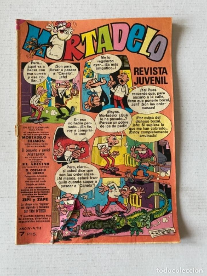 MORTADELO #115 BRUGUERA (Tebeos y Comics - Bruguera - Mortadelo)