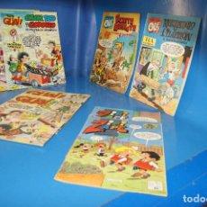 Tebeos: LOTE COMICS: ZIPI ZAPE (661 Y 664), MORTADELO Y FILEMÓN (EL SULFATO ATÓMICO), BENITO BONIATO, GUAI (. Lote 263070785