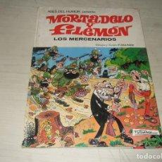 Tebeos: MORTADELO Y FILEMON LOS MERCENARIOS - PRIMERA EDICION 1980 - ASES DEL HUMOR - NUM. 40 - BRUGUERA. Lote 263077440