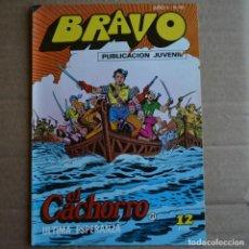 Tebeos: BRAVO Nº 41. EL CACHORRO 21. BRUGUERA 1976. LITERACOMIC.. Lote 263116325
