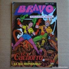 Tebeos: BRAVO Nº 45. EL CACHORRO 23. BRUGUERA 1976. LITERACOMIC.. Lote 263116450
