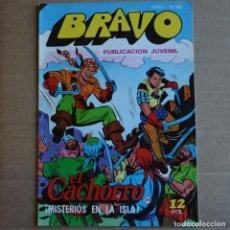 Tebeos: BRAVO Nº 49. EL CACHORRO 25. BRUGUERA 1976. LITERACOMIC.. Lote 263116545