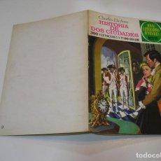 Livros de Banda Desenhada: JOYAS LITERARIAS JUVENILES Nº 3 HISTORIA DE DOS CIUDADES CONTRAPORTADA BLANCA MUY BUEN ESTADO. Lote 263208780