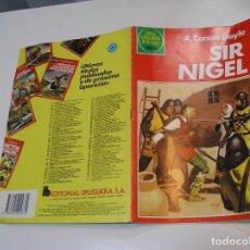 Tebeos: JOYAS LITERARIAS JUVENILES Nº 265 SIR NIGEL 1ª EDICION MUY BUEN ESTADO. Lote 263210055