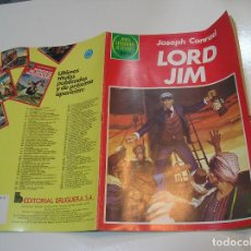 Tebeos: JOYAS LITERARIAS JUVENILES Nº 260 LORD JIM 1ª EDICION MUY BUEN ESTADO. Lote 263210585