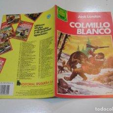 Tebeos: JOYAS LITERARIAS JUVENILES Nº 256 COLMILLO BLANCO 1ª EDICION MUY BUEN ESTADO. Lote 263210900