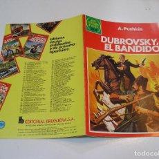 Tebeos: JOYAS LITERARIAS JUVENILES Nº 253 DUBROSKY EL BANDIDO 1ª EDICION MUY BUEN ESTADO. Lote 263211120