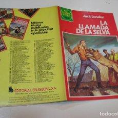 Tebeos: JOYAS LITERARIAS JUVENILES Nº 246 LA LLAMADA DE LA SELVA .... 1ª EDICION ,MUY BUEN ESTADO. Lote 263212380