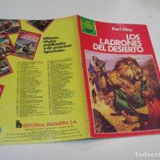 Tebeos: JOYAS LITERARIAS JUVENILES Nº 245 LOS LADRONES DEL DESIERTO 1ª EDICION ,MUY BUEN ESTADO. Lote 263212510