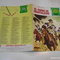 Tebeos: JOYAS LITERARIAS JUVENILES Nº 208 EL CONDE DE CHANTELAINE 1ª EDICION ,MUY BUEN ESTADO. Lote 263213630