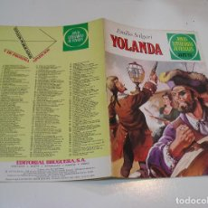 Tebeos: JOYAS LITERARIAS JUVENILES Nº 205 YOLANDA 1ª EDICION ,MUY BUEN ESTADO. Lote 263213820