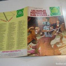 Tebeos: JOYAS LITERARIAS JUVENILES Nº 200 LOS PAPELES POSTUMOS DEL CLUB 1ª EDICION ,MUY BUEN ESTADO. Lote 263213985