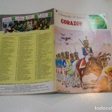Tebeos: JOYAS LITERARIAS JUVENILES Nº 198 CORAZON 1ª EDICION ,MUY BUEN ESTADO. Lote 263214235